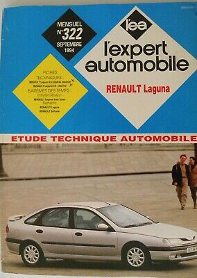 Revue technique automobile RTA Renault LAGUNA   n° 322