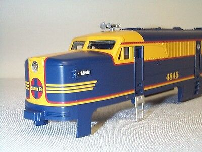 Lionel American Flyer 6-48148 4845 Santa Fe Freight PA Power A-Unit Shell NOS!