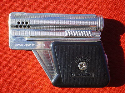 Vintage Petrol Lighter In A Shape Of A Small Pistol. IMCO