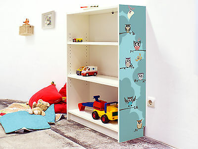YOURDEA - KLEBEFOLIE Kinderzimmer Möbel IKEA Billy Regal 100x80cm ...