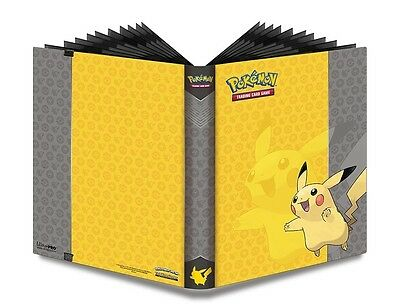 Ultra Pro PRO-Binder POKEMON OVP Ordner PIKACHU 9-Pocket Album f.360 Karten
