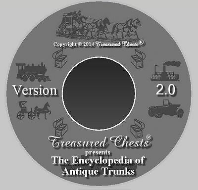 Encyclopedia of Antique Trunks, THE book for antique trunks, on CD, Version 2.0