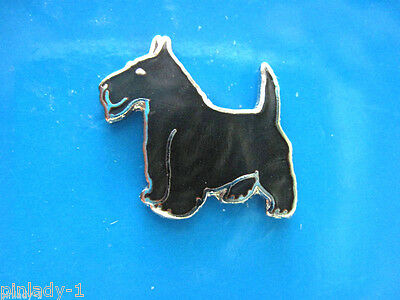 SCOTTISH TERRIER, WESTIE -   hat pin , lapel pin  tie tac , (S) bk GIFT BOXED