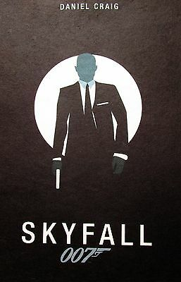 James Bond 007 Skyfall Hot Classic Movie Art Silk Poster 13x20 32x48 inches