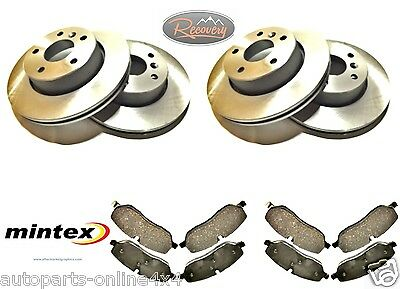 LAND ROVER DISCOVERY 3 -TDV6 - FRONT and REAR -DISCS AND PAD SET -BDM06