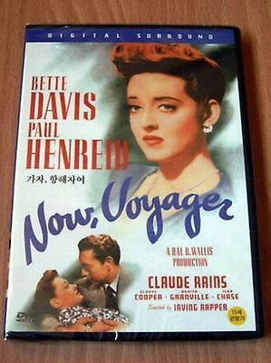 NOW VOYAGER - Bette Davis, Paul Brand New and Sealed UK Region 2 Compatible DVD