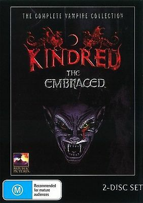 Kindred The Embraced - Patrick PAL ALL REGION NEW SEALED UK COMPATIBLE DVD