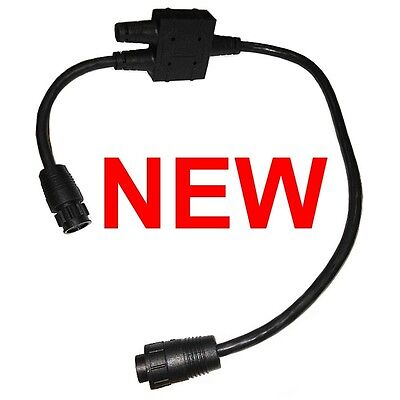 NEW Lowrance Simrad LSS1 to LSS2 Transducer Module Adapter Cable 000-11040-001