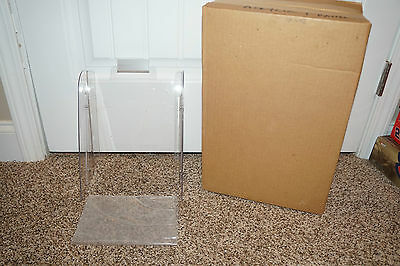 Friends Inc. Acrylic Panel 3802 Counter Display With Sign Holder Brochures NEW