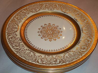 Edgerton China's E209-200--4 Dinner Plates in Very Nice Condition!