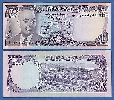 Afghanistan 20 P 48 b 1975 UNC (1354) Low Shipping! Combine FREE!