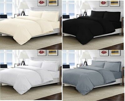 400 Thread Count 100% Egyptian Combed Cotton Bedding, Fitted, Flat, Duvet Cover