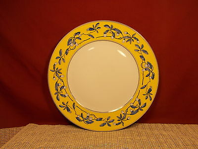 """Porcel Porcelain Dinnerware Imperial Promise Pat. Service Charger Plate 12"""" New"""
