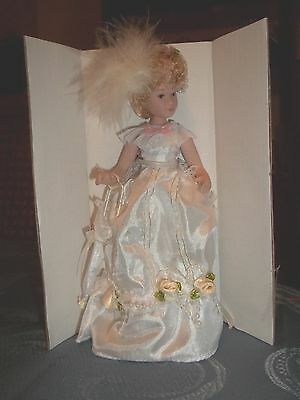 PORCELAIN VICTORIAN LADY DOLL- DOLL HOUSE MINIATURE