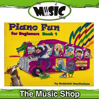 New Piano Fun for Beginners Book 1 Music Book