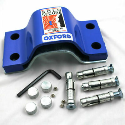 OXFORD Extra Strong Security Bolt-Down Motorcycle Ground Anchor Force