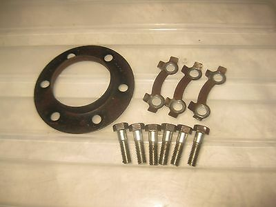 Suzuki 1981 1982 GS650 E GS 650 front left Brake Rotor Bolts Washer Set