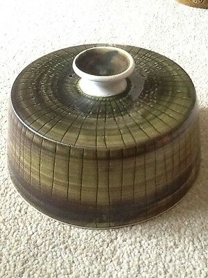 Rye Pottery Iden Sussex Cheese Dish Lid Only! Vintage Studio Pottery 1960s