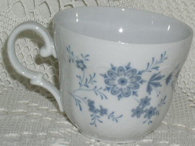 Christina Seltmann Weiden Porcelain Coffee Tea Cup Cups Plate Bavarian Blue