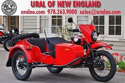Ural : Gear Up 2WD Motorcycle Red October Custom Custom Color Undercoated Powder Coated Drivetrain Financing & Trades