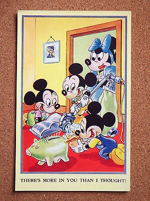 R&L Postcard: Valentine's Walt Disney Mickey Mouse Series, No.5013