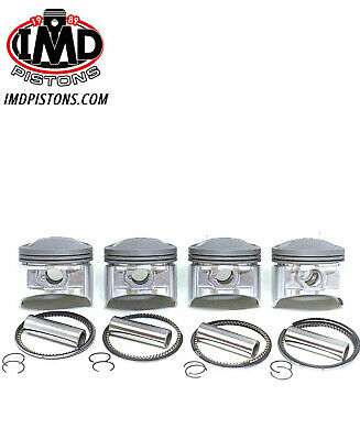 KAWASAKI KZ1000J 998cc PISTON KITS (4) NEW +1.0mm  Z1000P Z1000R KZ1000K KZ1000R