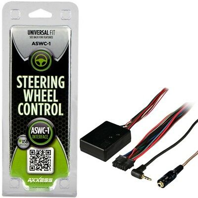 Axxess ASWC-1 Universal OEM Steering Wheel Control Interface Module Adapter ASWC