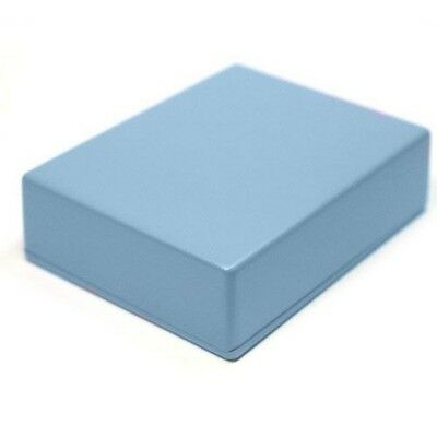 LIGHT BLUE Guitar Pedal Enclosure - professionally painted - Hammond 1590BB size