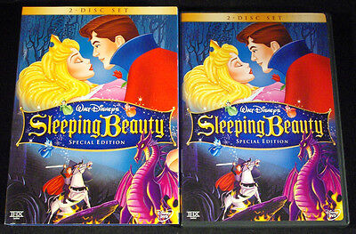 Sleeping Beauty (DVD, 2003, 2-Disc Set, Special Edition) w/ Slip Cover MINT