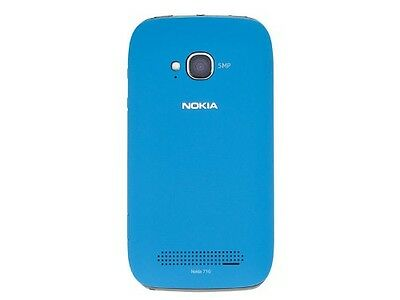 Genuine Nokia Lumia 710 Battery Back Cover Housing Replacement BLUE