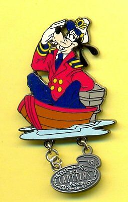 Disney Cruise Line DCL Captains Choice Goofy LE Pin New