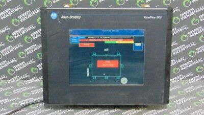 USED Allen Bradley 2711-T10C15 PanelView 1000 Operator Interface Ser C Rev. C NC