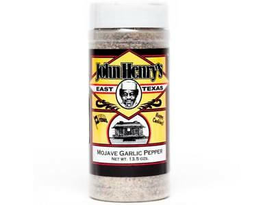 John Henry's Mojave Garlic Pepper Rub - 11.5 oz.