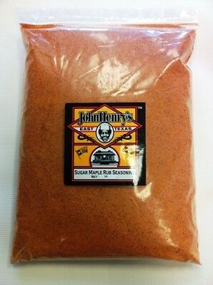 John Henry's Sugar Maple Rub - 5lb
