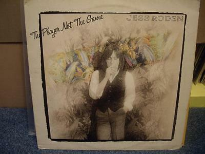 JESS RODEN - THE PLAYER NOT THE GAME , ISLAND 1977 , VG++/EX ,LP