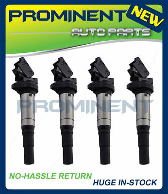 Set 4 Ignition Coil For 07-16 Mini Cooper Countryman Paceman 1.6L L4 UF598 C1692