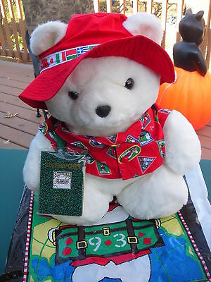 1993 SANTABEAR- He Goes Global, Explores Holidays Around The World-Complete