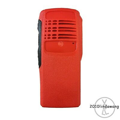 Red Replacement Repair Case Housing for motorola HT750 Portable radio