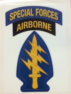 Airborne Paratrooper  Special Forces Sticker