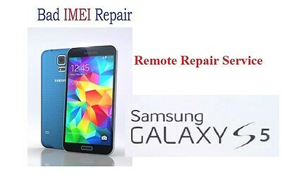 Bad IMEI Remote Repair Service for SAMSUNG S5