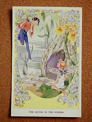 R&L Postcard: Valentine's Fairy Series Rene Cloke, 5106 House in the Rushes
