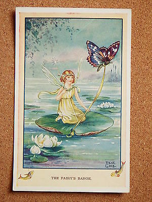 R&L Postcard: Valentine's, Rene Cloke, 3714 The Fairy's Barge
