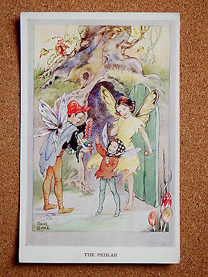 R&L Postcard: Valentine's, Rene Cloke, Fairy Series 1762 The Pedlar