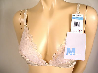 f288e15570 Maidenform Bra Classic Sweet Nothings Lightly Lined Soft Cup Front Closure  6848