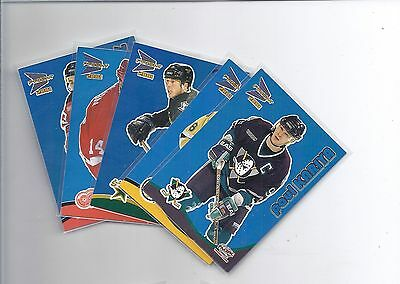 2000 2000-01 McDONALD'S BLUE PARALLEL - FINISH YOUR SET - LOW SHIPPING RATE