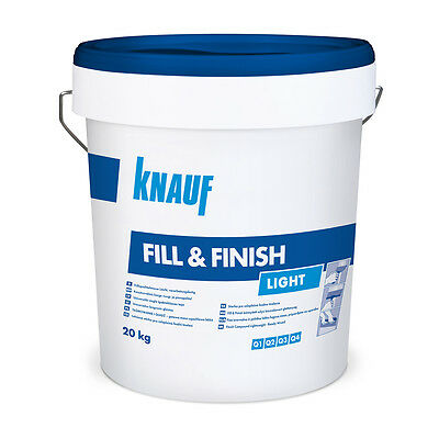 Knauf Fill & Finish Light Fertigspachtel Fugenspachtel Spachtelmasse Spachtel