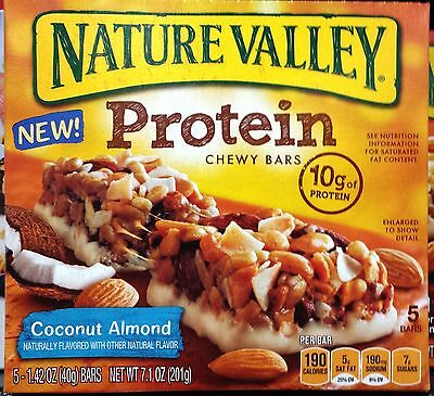 Nature Valley Protein Chewy Granola Bars ~ One Box