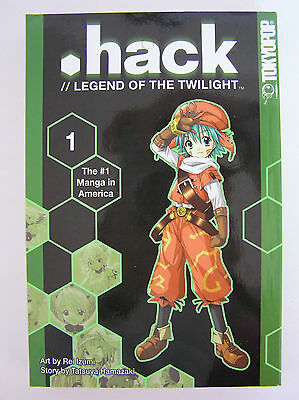 .hack // LEGEND OF THE TWILIGHT MANGA VOL 1 TOKYOPOP 1st ED ANIME BOOK DOTHACK