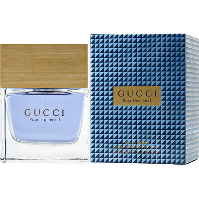 GUCCI II POUR HOMME 100ml EDT SPRAY FOR MEN ---------------------- NEW PERFUME 2