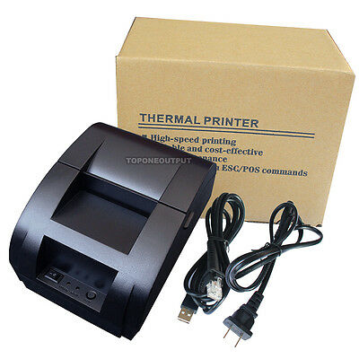 58mm USB POS Thermal Receipt Printer +Cash Drawer +Wireless Barcode Scanner Set